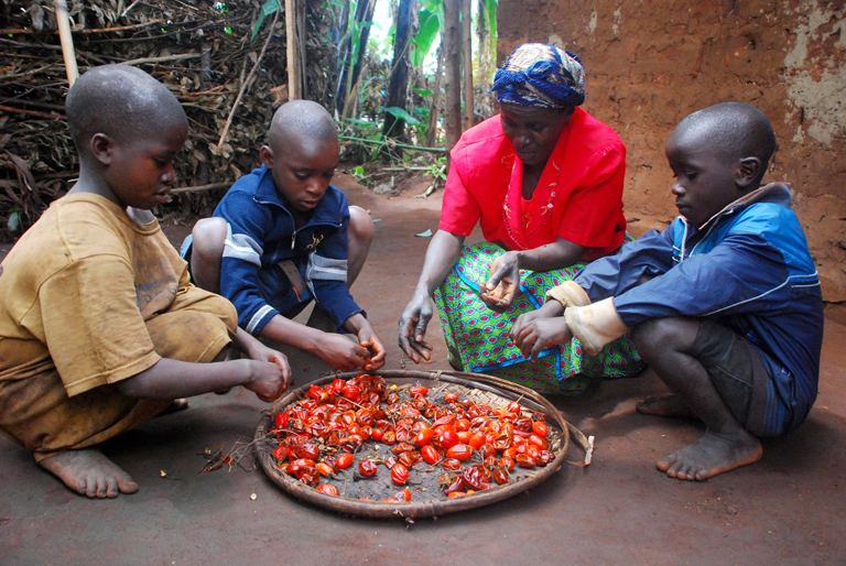 Burundi család