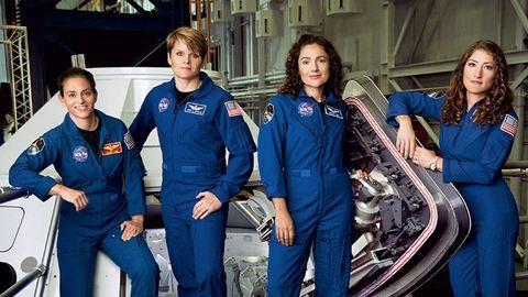 Űrhajósnőkkel erősít a NASA a Mars-misszió előtt