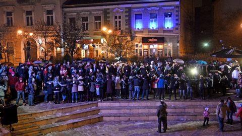 Igazi görög hangulatot varázsoltak Miskolcon a hideg télben
