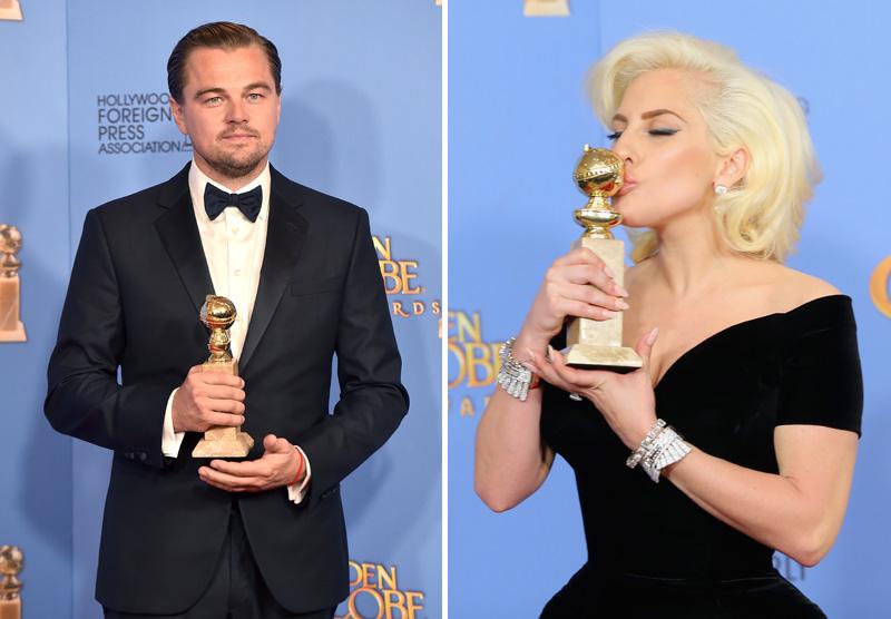 Leonardo DiCaprio és Lady Gaga