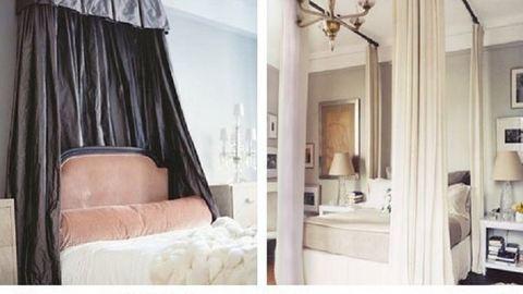 DIY tippek fejedelmi, baldachinos ágyakhoz
