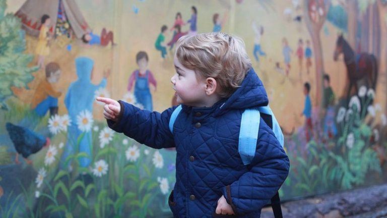 György herceg bevásárolni ment anyukájával - fotó