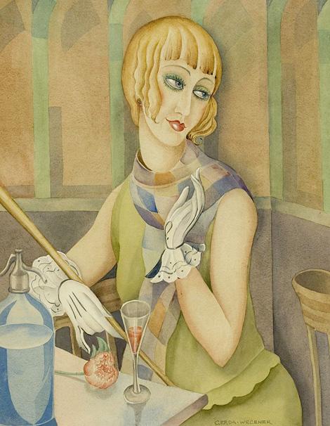 Lili Elbe, Gerda Wegener festményén