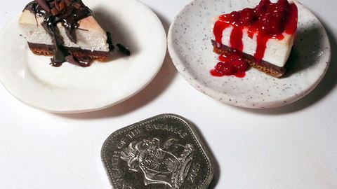 Miniatűr ételszobrokat készít ez a nő – bámulatos fotók