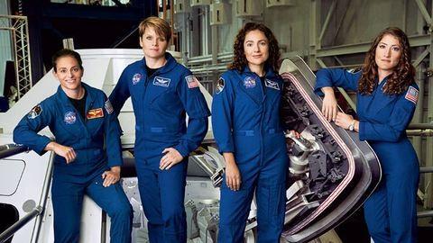 A NASA legújabb űrhajóscsapatának fele már nőkből áll