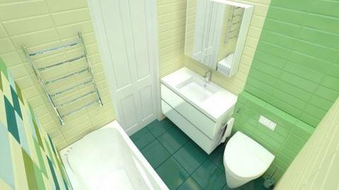 Merj élénk színeket használni a fürdőszobában!