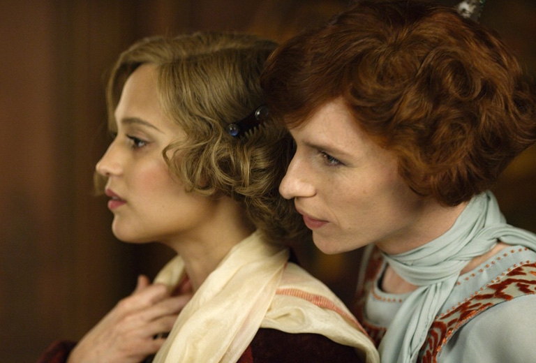 Gerda és Lili a Dán lány c. filmben