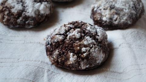 Puha csokis keksz bögrésen