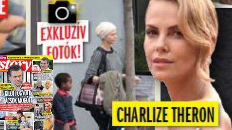 Budapesti magánklinikán fotózták Charlize Theront
