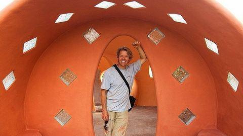 6 hét alatt épített álomházat magának – mesés fotók