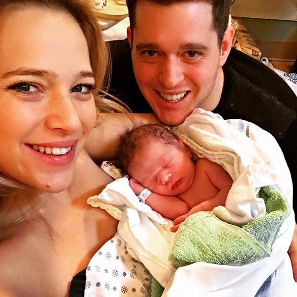 Megszületett Micahel Bublé és Luisana Lopilato második gyermeke - fotó
