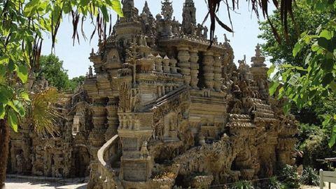 33 év alatt építette ezt az elképesztő kastélyt – fotók
