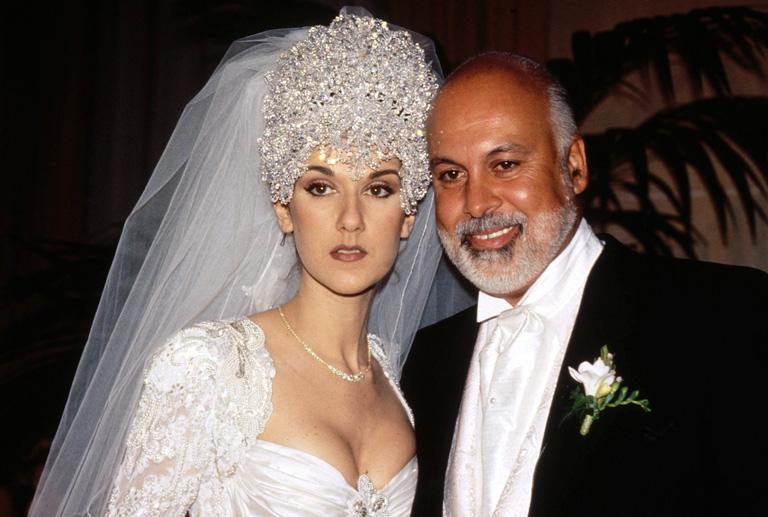 Celine és René esküvője 1996-ban