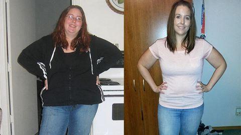 Így fogyott 45 kilót diéta és személyi edzés nélkül