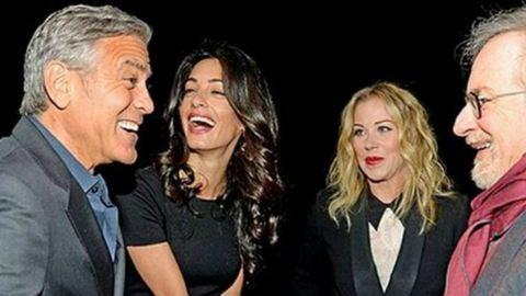 George Clooney ezt mondta a felesége terhességéről