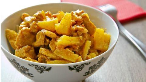 Gyors vacsora: ananászos csirke