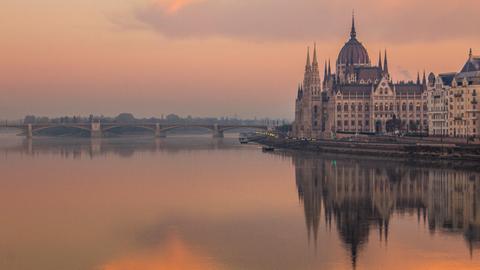 Magyar fotós különleges képei Budapestről