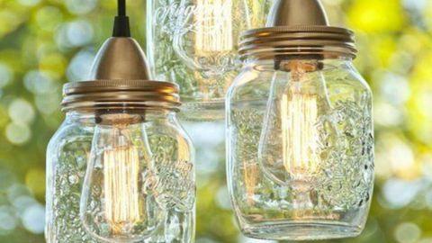 Csináld magad: befőttesüvegből LED-lámpa – videó