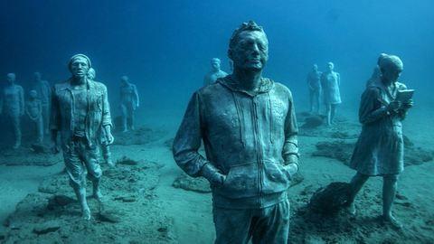 Ennyire vagány Európa első víz alatti múzeuma