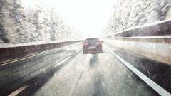 Ennyi volt az előtavasz - visszatér a hó