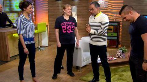 Cseke Katinka 15 kilót fogyott, mutatja, hogyan
