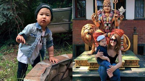 Németül számol és angolul mondja az ábécét a kétéves magyar kisfiú