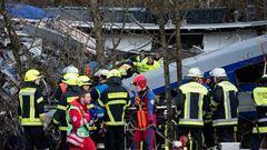 Vonatbaleset Németországban – eddig 9 halott