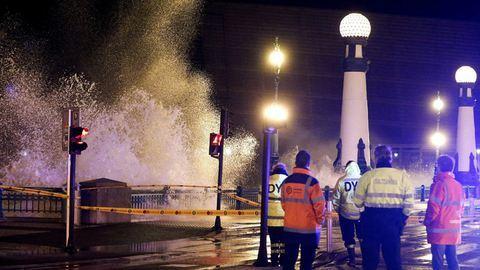 Elborította a víz a spanyolországi üdülővárost