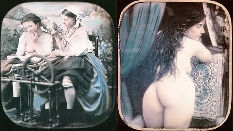 18+: Felcsúszott szoknyák, önkielégítés és buja pózok: pornográf fotók 1850-ből