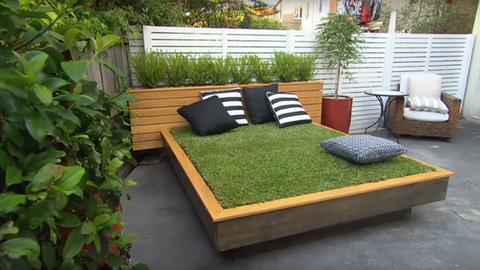 Te is csinálj magadnak fűvel borított ágyat