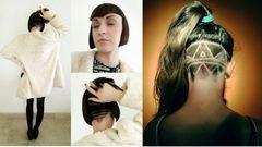 Idén hódít majd az aszimmetrikus, felborotvált extrém haj – képek