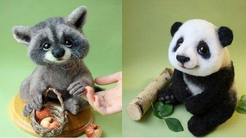 Elképesztően élethű állatokat készít egy orosz művész – képek