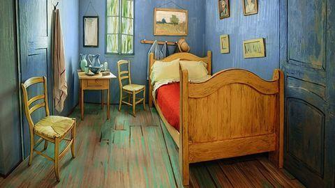 Van Gogh Airbnb-n adja ki híres szobáját