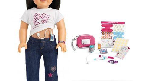 Piacra dobták a cukorbeteg játék babát