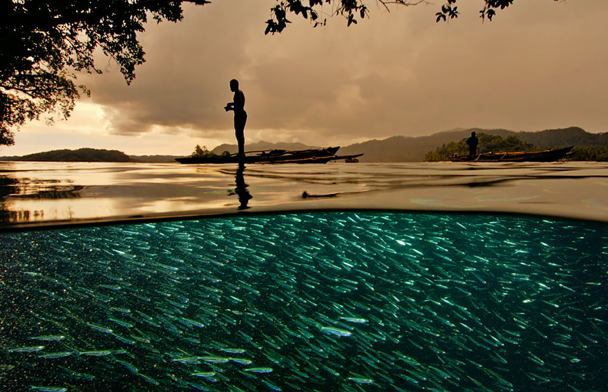 Lenyűgöző fotók két világ határán