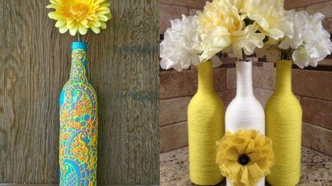 6 gyönyörű tavaszi üvegdekoráció