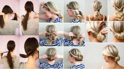 15 végtelenül egyszerű, percek alatt elkészíthető frizuraötlet – képek