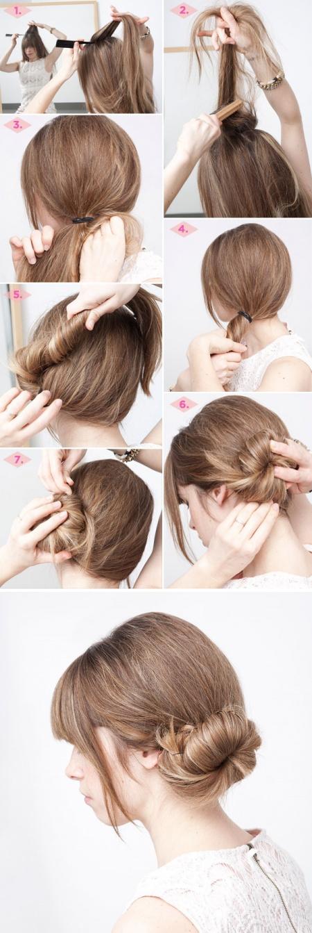 15 végtelenül egyszerű, percek alatt elkészíthető frizura ötlet - képek