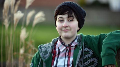 Transznemű diák az egyetlen fiú az iskolában