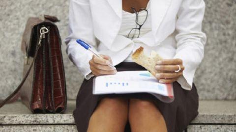 Így néz ki az egészséges emberek ebédszünete
