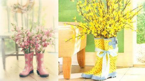 3 filléres, mégis gyönyörű tavaszi dekoráció