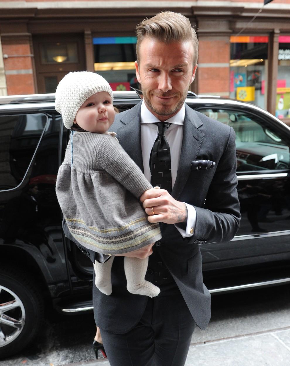 Ilyen nagylány lett Harper Seven Beckham - cuki képek vasárnapra
