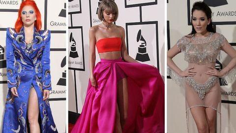 Grammy 2016: nézd meg a sztárok bőrét, mert nem sok ruha volt rajtuk