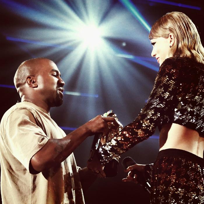 Kanye élvezte, hogy Swifttel állhat egy színpadon