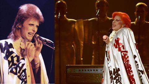 Megható: Lady Gaga David Bowie bőrébe bújt a Grammyn