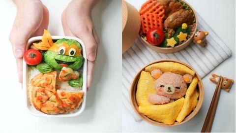 Elképesztően kreatív és cuki ebédekkel dobja fel iskolás gyermekei napjait egy anyuka – képek
