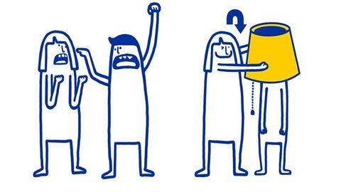 IKEA-megoldások párkapcsolati problémákra