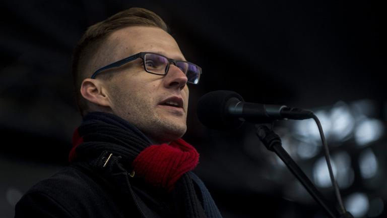 Pukli István, a budapesti Teleki Blanka Gimnázium igazgatója (Fotó: MTI)