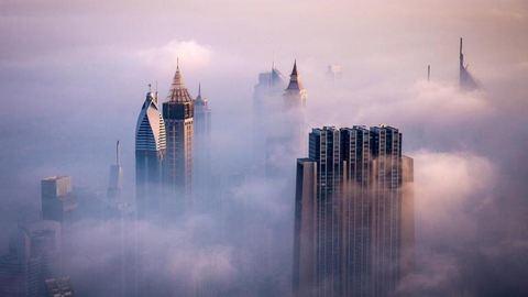 11 különleges fotó a felhőben úszó Dubajról