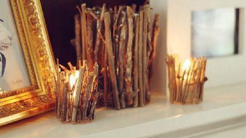 Csináld magad: zseniális lakásdekorációk faágból